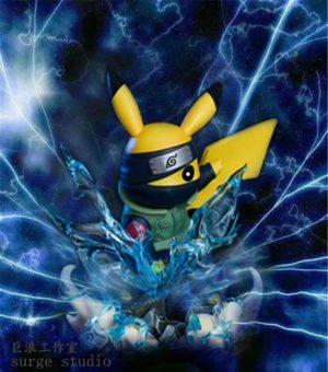 Surge Studio – Pikachu Cos Kakashi (1)